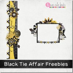 FREE DIGI SCRAPBOOK SUPPLY Digital Scrapbooking Freebies, Black Tie Affair, Scrapbook Supplies, Cute Kids, Printables, Crafts, Manualidades, Print Templates, Handmade Crafts