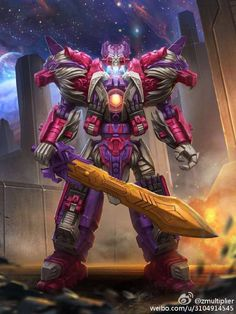 Transformers Titans Return Alpha Trion.