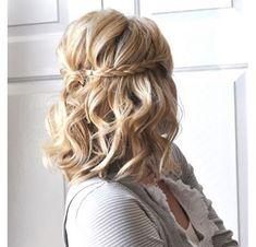 Αποτέλεσμα εικόνας για βραδινα χτενισματα για καρε μαλλια