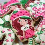 Strawberry Shortcake Sugar Cookies