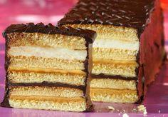 Ciasto balowe. Kliknij w zdjęcie, aby poznać przepis. #ciasta #ciasto #desery #wypieki #cakes #cake #pastries