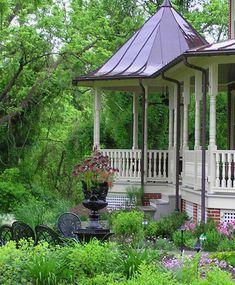 Front Yard Landscaping by Joanne Kostecky Garden Design by Landscape Design Advisor, via Flickr
