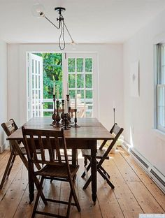 A couple of years ago I featured the 1850's cottage of Brooklyn design studio Workstead (I am obsessed with their lighting). It seems they have put this adorable dwelling on the market and the listing