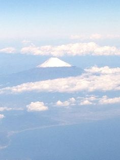 Mt.Fuji from above