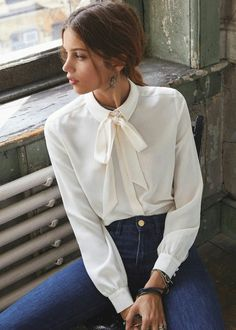 Witte blouse - outfit