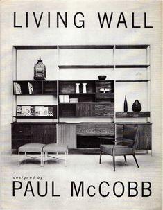 #midcentury #shelves #furniture Paull McCobb