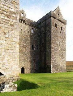 Scotland Castles, Scottish Castles, Hermitage Castle, Lanscape Design, Moving To Ireland, England Countryside, Scotland History, Black And White Birds, British Wildlife
