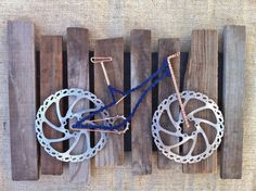 Bicycle Wall Art by josephstephenson on Etsy, $200.00