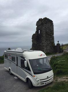 Viaje en autocaravana de lujo, Carthago, a Inglaterra, Escocia, Irlanda