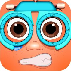 Help those cute kids to cure their eye problem in Cute Kids Eye Clinic #KidsGame for FREE...!!!