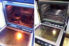 Zsíros sütő megtisztítása vegyszerek nélkül, házilag