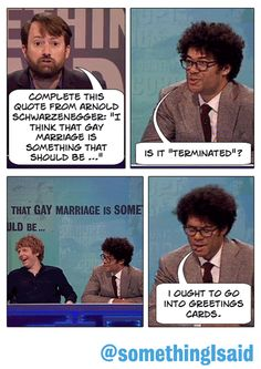 : Richard Ayoade is perfection British Humour, British Comedy, Funniest Memes, Funny Memes, Richard Ayoade, Comedy Tv Shows, The Mighty Boosh, Nerd Love, Book Show