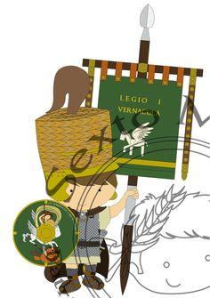 Legio I Vernácula - Vexilarius