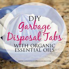 Veriditas by Pranarom: DIY Garbage Disposal Tabs