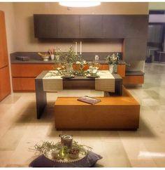 Minimal kitchen, new design, stone and wood Nomidis Luxury Furniture