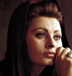""" Sophia Loren for ""El Cid"" """