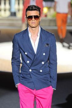 I just bought this Jacket from this summer's Dsquared collection. Looking forward to the warmer weather so I can wear it!