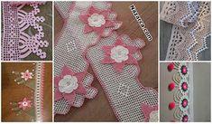 KENAR DANTEL ÖRNEĞİ SADE VE ŞIK ÖMÜR TÜKETEN MODELİ   Nazarca.com Crochet Tablecloth, Filet Crochet, Knitting Stitches, Lace, Handmade, Tulum, Women, Crochet Fish, Bath Towels & Washcloths