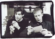 Alex James and Dave Rowntree