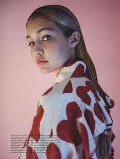 IMG Models - Gigi Hadid - Photography Tyrone Lebon | Styling Max Pearman | Pop | AW 2014