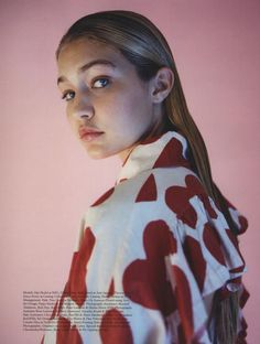 Gigi Hadid, Photography Tyrone Lebon | Styling Max Pearman | Pop | AW 2014