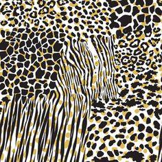 Seamless Animal Print Pattern by Tamil arasi Seamless Repeat Vector Royalty-Free Stock Pattern Tribal Patterns, Print Patterns, Bird Design, Design Art, Tribal African, African Flowers, Geometric Background, Safari Animals, African Design