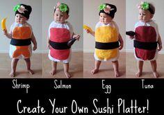 Disfraz de... sushi!