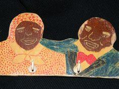 Vintage Black Mame & Black Sambo Black by TheIDconnection on Etsy, $125.00