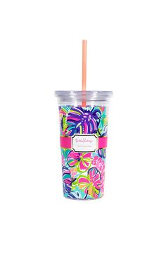 Check out this product from Lilly - Tumbler With Straw  https://www.lillypulitzer.com/product/gifts/gifts-under-50/tumbler-with-straw/pc/203/c/275/9477.uts