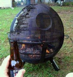 The Death Star - Cool fire pit. - Imgur - Star Wars