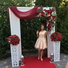Diy Wedding Arch Rustic Photo Booths Ideas For 2019 Wedding Arch Rustic, Wedding Entrance, Wedding Stage, Trendy Wedding, Diy Wedding, Wedding Events, Dream Wedding, Weddings, Stage Decorations