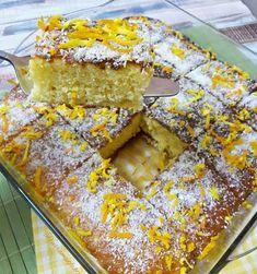 Wet cake with orange t – Patisserie Yummy Recipes, Cake Recipes, Snack Recipes, Yummy Food, Orange Recipes, Cake Ingredients, Turkish Recipes, No Bake Desserts, No Bake Cake