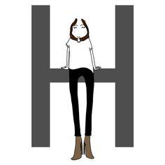Morphologie en H : conseils pour savoir comment s'habiller avec une morphologie en H - Elle Morpho H, Mode Style, Style Me, Fashion Mode, Rectangle Shape, Style Inspiration, Couture, Boutique, Dressings