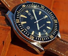 Omega Seamaster 300 with the rare (better looking) hands.