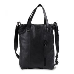 Oona Small Tote (black)