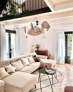 Terrazzo, Chaise Panton, Home Living Room, Patio, Outdoor Decor, Home Decor, Small Wooden Shelf, Wrought Iron Stairs, Warm Home