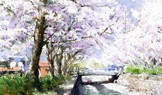 Shin Jong Sik ~ Watercolor painter | Tutt'Art@ | Pittura * Scultura * Poesia * Musica |
