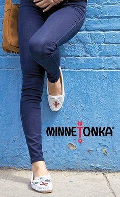 Comfy Minnetonka Moccasins