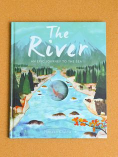 A beautiful story that follows a little fish as she travels downriver into the unknown. A pleasure to read, the rhyming text is accompanied by colourful, collage-style artwork from Japanese illustrator Hanako Clulow. We recommend this timeless picture book for any intrepid explorer eager to see where the journey takes them!  http://petitandsmall.com/smallprint-kids-books-open-childrens-imagination/