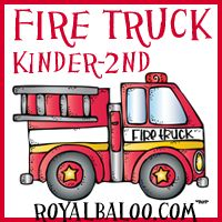 FREE Fun Fireman and Fire Truck Printables