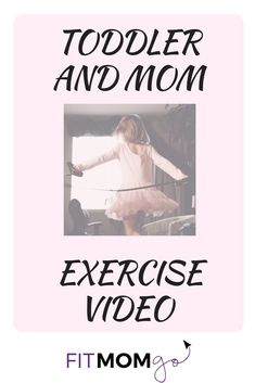 Join in the fun with this Mom and Toddler Exercise Video Ballet Style! Toddler Exercise, Post Pregnancy Workout, Healthy Lifestyle Tips, Friends Mom, Strength Workout, How To Stay Healthy, Healthy Moms, Workout Videos, New Baby Products
