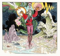 Marvel Comics of the 1980s: Elric by P. Craig Russell