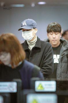 Incheon Airport from Singapore 160111 : Kai