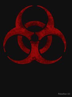 Biohazard symbol | Hoodie (Zipper)