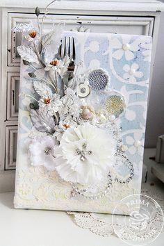 nice canvas - wanna be a card!