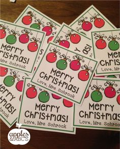 Does anyone need last minute gift tags for student gifts? Head to my blog to pick up this...