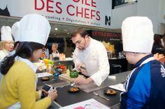 #Cuisiner avec Ronan KERVARREC pour l'Etoile des Chefs à NICETOILE c'est possible !