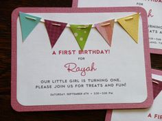 Heehee, I found this pin when searching party ideas. What a flattering surprise! In just a few months, my little girl will be THREE. Time flies!