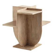 "Modernist Side Table 21""sq. x 24""h"