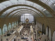 I really loved the Musée d'Orsay. I walked around with tears in my eyes. Well, I pretty much did that the whole trip. Traveling changed me.